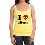 I Love Aliens Jr. Spaghetti Tank