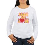 Haight Love Women's Long Sleeve T-Shirt