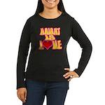 Haight Love Women's Long Sleeve Dark T-Shirt