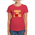 Haight Love Women's Dark T-Shirt
