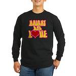 Haight Love Long Sleeve Dark T-Shirt