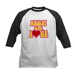 Haight Love Kids Baseball Jersey