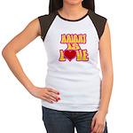 Haight Love Women's Cap Sleeve T-Shirt