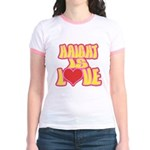 Haight Love Jr. Ringer T-Shirt