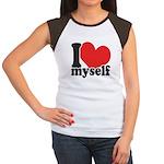 I LOVE Myself Women's Cap Sleeve T-Shirt