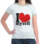 I LOVE Myself Jr. Ringer T-Shirt
