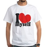 I LOVE Myself White T-Shirt