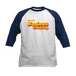 Badass Cinema Kids Baseball Jersey