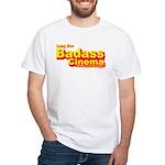 Badass Cinema White T-Shirt