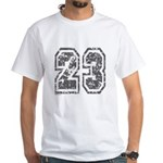 Number 23 White T-Shirt