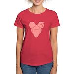 Afro Girl Women's Dark T-Shirt