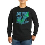Been There Long Sleeve Dark T-Shirt