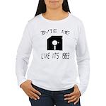 Byte Me 1983 Women's Long Sleeve T-Shirt