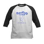 Surfish Board Co Kids Baseball Jersey
