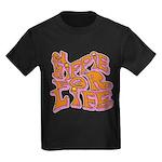 Hippie for Life Kids Dark T-Shirt