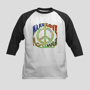 Love not War Kids Baseball Jersey