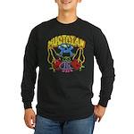 Hippie Musician Long Sleeve Dark T-Shirt