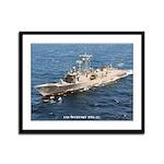 USS McCLUSKY Framed Panel Print