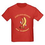 Ask Me Weiner Kids Dark T-Shirt