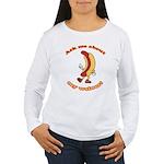 Ask Me Weiner Women's Long Sleeve T-Shirt