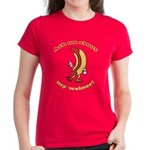 Ask Me Weiner Women's Dark T-Shirt