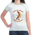 Ask Me Weiner Jr. Ringer T-Shirt