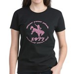 Pink Cowboy Women's Dark T-Shirt
