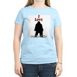 I Love Sasquatch Women's Light T-Shirt