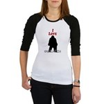 I Love Sasquatch Jr. Raglan