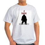 I Love Sasquatch Light T-Shirt