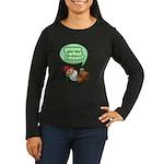 Gnome What I Mean Women's Long Sleeve Dark T-Shirt