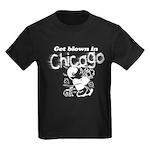 Blown in Chicago Kids Dark T-Shirt