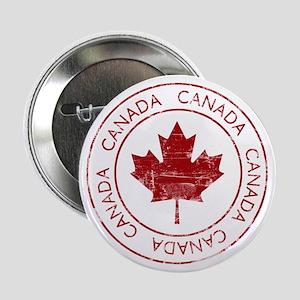 """Vintage Canada 2.25"""" Button"""