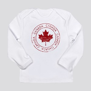 Vintage Canada Long Sleeve Infant T-Shirt