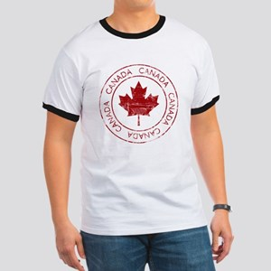 Vintage Canada Ringer T