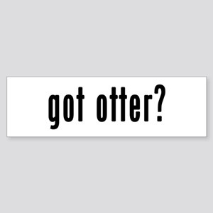 GOT OTTER Sticker (Bumper)