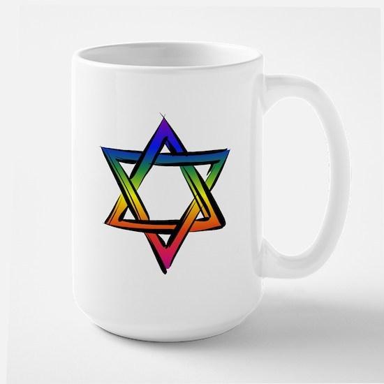 LGBT Star of David Mug