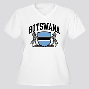 Botswana Women's Plus Size V-Neck T-Shirt