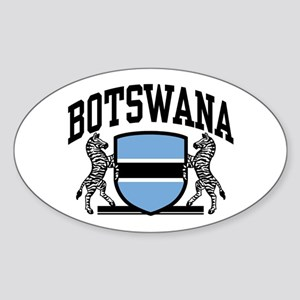 Botswana Sticker (Oval)