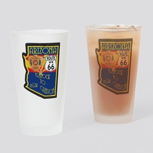 AZ HP Route 66 Drinking Glass