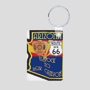 AZ HP Route 66 Aluminum Photo Keychain