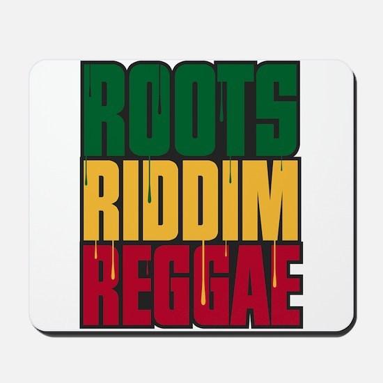 Roots Riddim Reggae Mousepad