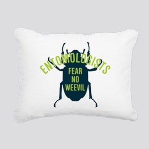Fear No Weevil Rectangular Canvas Pillow
