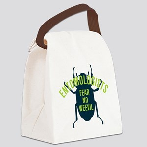 Fear No Weevil Canvas Lunch Bag
