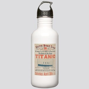 Titanic Advertising Card Stainless Water Bottle 1.