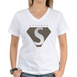 Proud To Be A Spudman Women's V-Neck T-Shirt