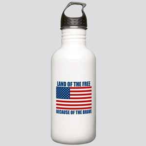 Because of the Brave Stainless Water Bottle 1.0L