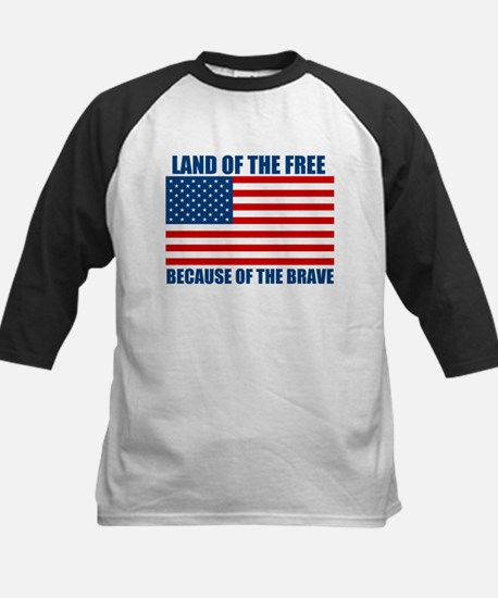 Because of the Brave Kids Baseball Jersey