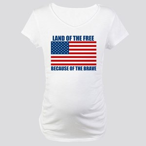 Because of the Brave Maternity T-Shirt