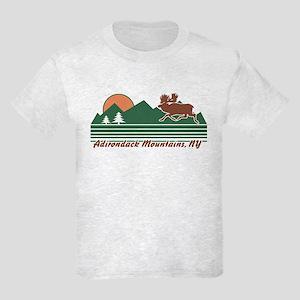 Adirondack Mountains NY Kids Light T-Shirt